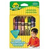 : Crayola 8 ct. Washable Triangular Crayons (1 box)