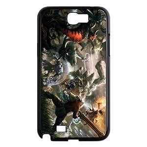 Samsung Galaxy Note 2 Black phone case All Heroes Dota 2 DOT8122078