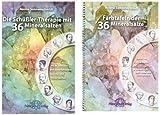 Die Schüßler-Therapie mit 36 Mineralsalzen: Mit 36 Farbtafeln und weiterführenden Gesichts- und Körperzeichen 2 Bände (Lehrbuch mit Farbtafelnbeiheft)