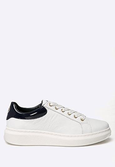 031394b5 Tommy Hilfiger Sabrina 1 A Gigi Hadid FW56822036 Womens Trainers Black/White  white Size: