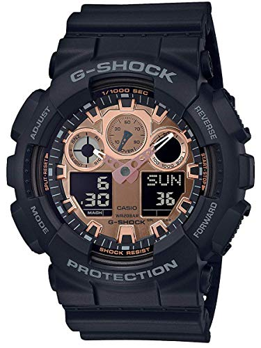 G-Shock Men's GA100MMC-1A Black One Size