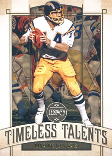 - 2019 Panini Legacy Timeless Talents #5 Dan Fouts San Diego Chargers NFL Football Trading Card
