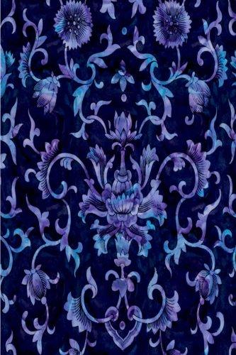 Damask Wallpaper Patterns (Journal Blue Floral Vintage Damask Pattern Design: (Notebook, Diary, Blank Book) (Damask Designs Patterns Journals Notebooks Diaries))