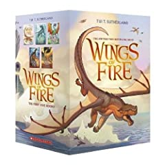 The New York Times bestselling Wings of Fire series is more collectible than ever in this five-book paperback boxed set!A war has been raging between the dragon tribes of Pyrrhia for years. According to a prophecy, five dragonets will ...