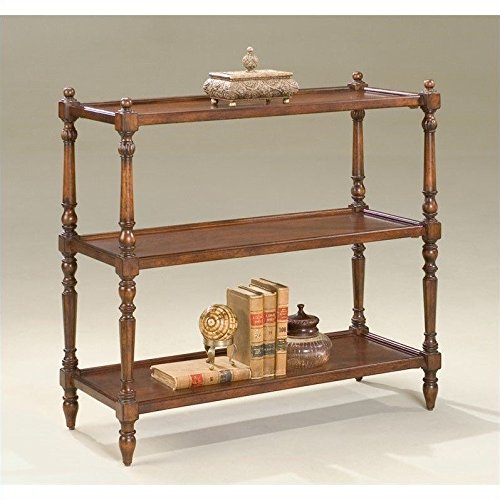 Butler Rothwell Plantation Cherry 3-Tier Console Table by Butler
