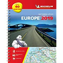 Europe 2019 - Tourist and Motoring Atlas (A4-Spirale): Tourist & Motoring Atlas A4 spiral