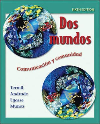 Dos mundos Student Edition with Online Learning Center Bind-in Passcode (McGraw-Hill World Languages) (Spanish Edition) (Best Cheap Center Speaker)