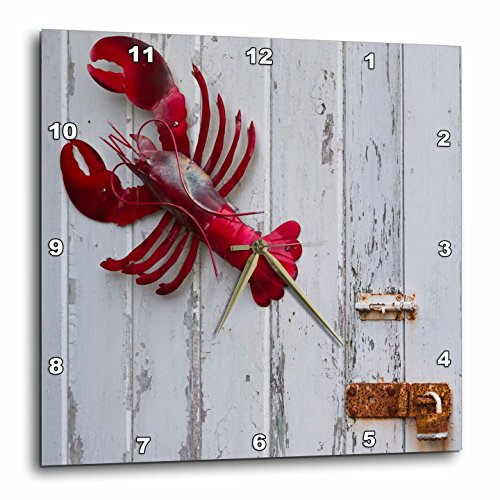 3dRose Danita Delimont - Objects - USA, Maine, Freeport, lobster pound, lobster toys - 15x15 Wall Clock - Freeport Outlets Maine