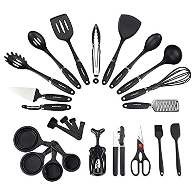 NEXGADGET Kitchen Utensils Cooking Utensils Nonstick Utensils Set from NEXGADGET