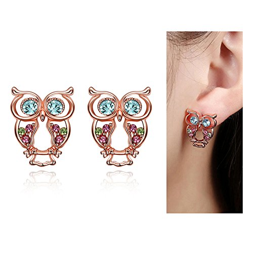 Eternity J Plated Color Earrings