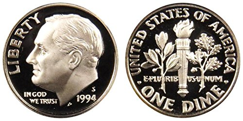 1994 S Silver Proof Roosevelt Dime PF1