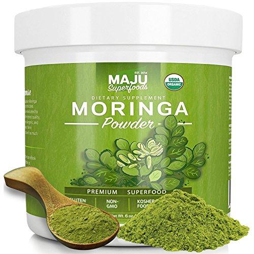 MAJUs Organic Moringa Powder Guaranteed product image