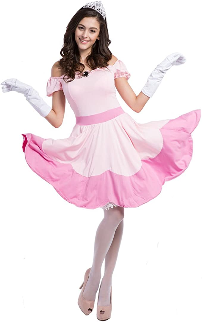 Ladies Princess Peach Costume