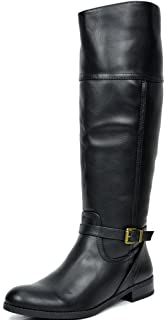 63a2a9d51 Amazon.com | TOETOS Women's Fashion Knee High and Up Riding Boots ...