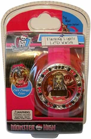 Monster High Flashing Lights LCD Watch
