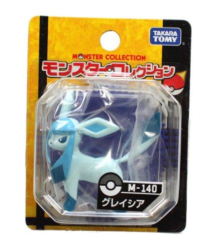 Pokemon Black & White Takaratomy M Figure - M-140 - Glaceon/Glacia