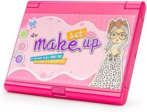 子供のメイクアップセット洗える化粧おもちゃセットプリンセスガールズ化粧品プレイセット子供のための実際の化粧品美容セットミラー付き洗面化粧台と子供のための非毒性化粧キット Uptodate