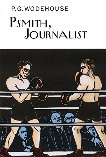 Book cover for Psmith, Journalist