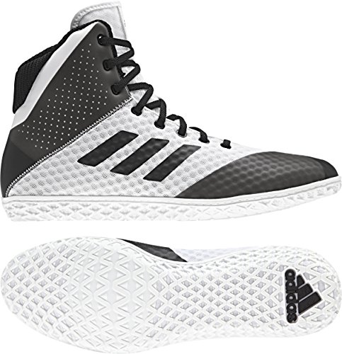 4b9745efe0a563 Galleon - Adidas Mat Wizard 4 Men s Wrestling Shoes