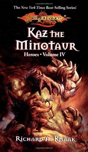 """""""Dragonlance Saga Heroes II - Kaz, the Minotaur v. 1 (Dragonlance"""" av Richard A. Knaak"""