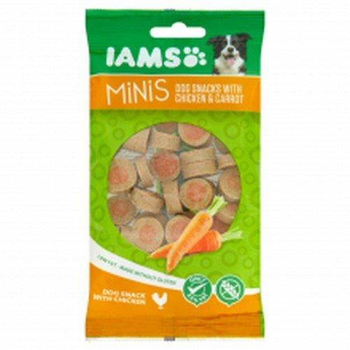 Iams - Mini Snacks de Pollo y Zanahoria para Perros (100g ...
