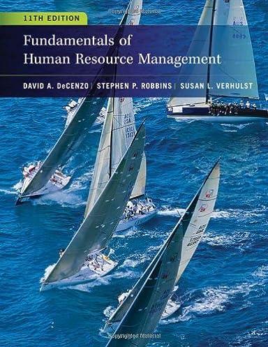 fundamentals of human resource management 9780470910122 human