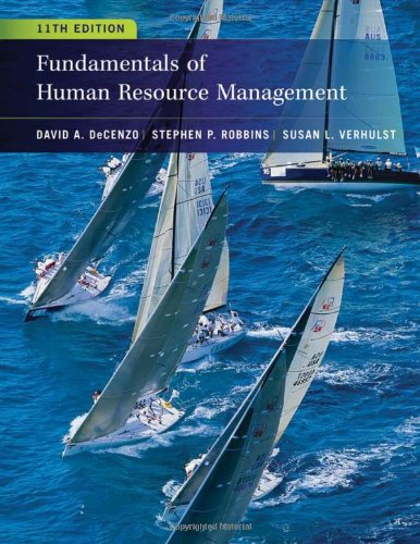 compare human resources personnel management prices and save up tofundamentals of human resource management 11 edition