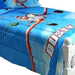 Disney Planes Twin-Full Bed Comforter Dusty Crophopper On Your Mark Bedding
