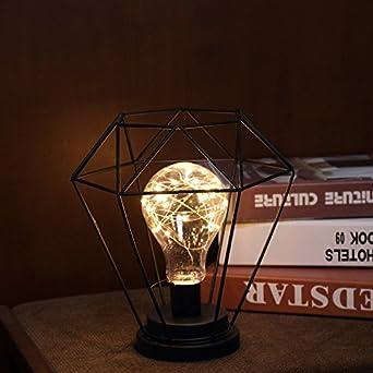 Globe Décorative Rétro Lumière Nuit Chevet De Led Lanterne Lampe wZliTPkuOX