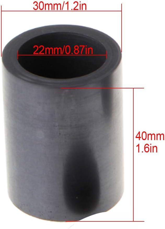 Fly-Fiber Creuset en Graphite Pur avec approvisionnement de Laboratoire de Bijoux de Couvercle pour laffinage de Fonte de m/étal dargent dor-85 ML
