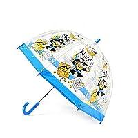 Bugzz Clear Dome Birdcage Kids Pirate Umbrella