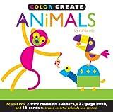 Color Create: Animals, Jenny Broom, 1607104938