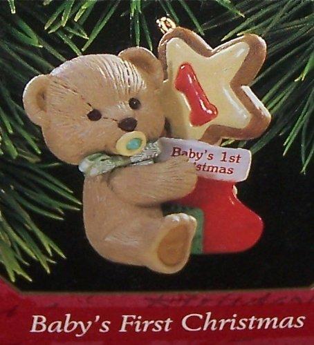 Hallmark 1997 Baby's First Christmas, Teddy ()