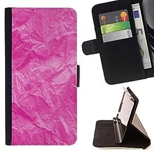Momo Phone Case / Flip Funda de Cuero Case Cover - Arrugado patrón rústico Montañas - Samsung Galaxy S6 Edge Plus / S6 Edge+ G928