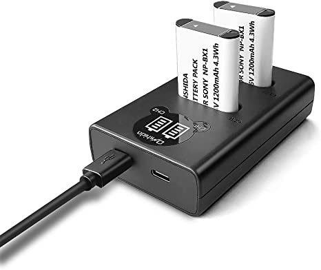 Np Bx1 Onshida Batterie De Rechange Avec Chargeur Et Port Micro Usb Usb C Pour Sony Np Bx1 M8 Sony Cyber Shot Dsc Rx100 Dsc Rx100 Ii Dsc Rx100m Il Hdr Cx405 Dsc Hx50v Dsc Hx300 Dsc Hx400 Amazon Fr Photo Camescopes