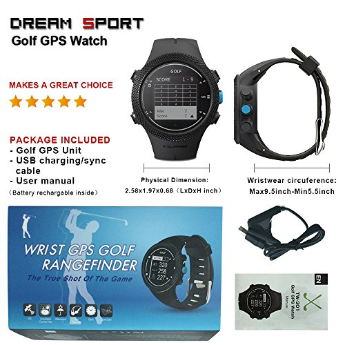 dreamsport Golf GPS Watch DGF301 new generation (Black) by dreamsport (Image #7)