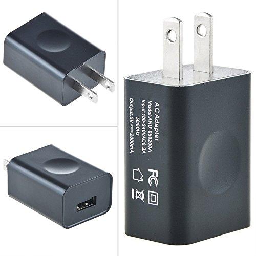 SLLEA Charger + USB Cable for TI Nspire CX CX CAS TI 84 Plus CE Silver Edition