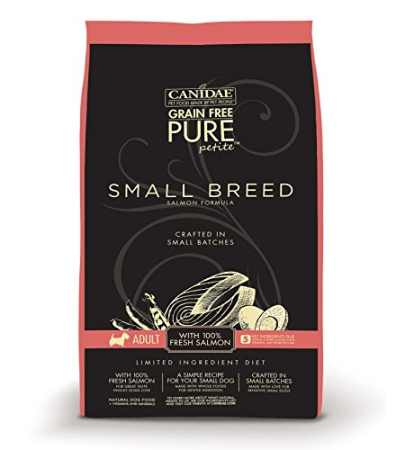 CANIDAE-Grain-Free-PURE-Petite-Small-Breed-Adult-Dog-Dry-Formula-with-Fresh-Salmon-3-lbs