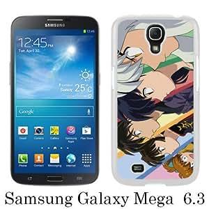 Beautiful Classic InuYasha White Case For Samsung Galaxy Mega 6.3 i9200 i9205