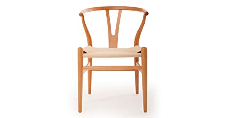 Kardiel Wegner Style Wishbone Y Dining Chair, Natural Frame/Natural Seat