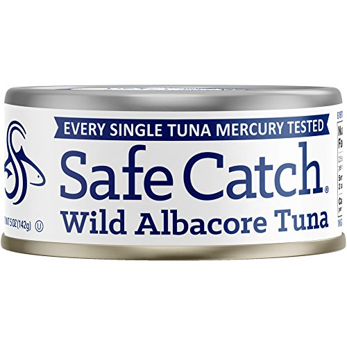 Safe Catch Wild Albacore Tuna - 12 Pack The Only Brand To Test Every Tuna for Mercury ()