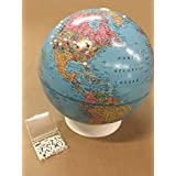 "Academia Maps - Push-Pin Globe - Mark your travels! - 9"" diameter"