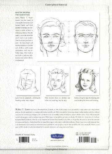 Faces Learn To Draw Step By Step How To Draw Paint Vol 1