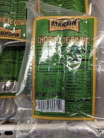 Martin Pure Foods Chorizo de Bilbao 6 unidades: Amazon.com ...