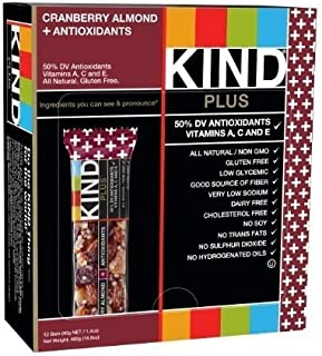 product image for KIND Plus Cranberry Almond Granola Bar 1.4 oz. Packet