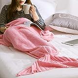 Mermaid Tail Blanket Explosive crossborder Knit Mermaid Tail Blanket