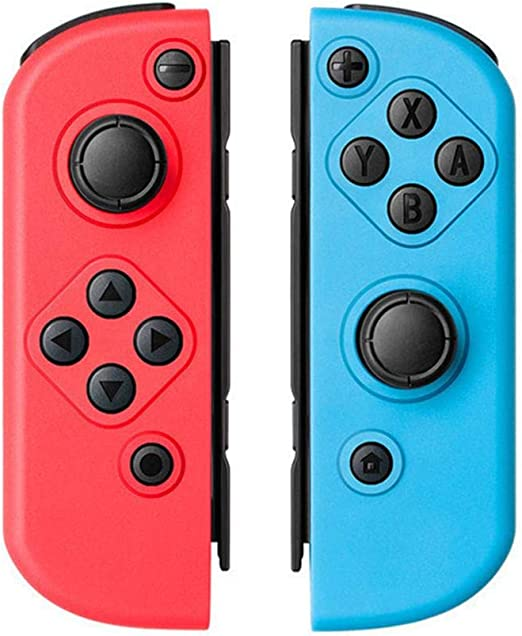 Finelyty Controlador Inalámbrico para Switch, Joystick De Reemplazo Izquierdo Y Derecho para Joy con Controlador Inalámbrico De Gamepad Bluetooth (no Original): Amazon.es: Hogar