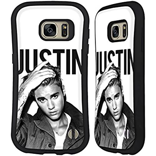 Official Justin Bieber Calendar Black And White Purpose Hybrid Case for Samsung Galaxy S7 Sales