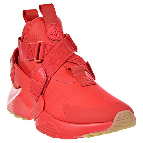 Pictures of NIKE Air Huarache City Women's Shoes Red/Speed Red/Black 6