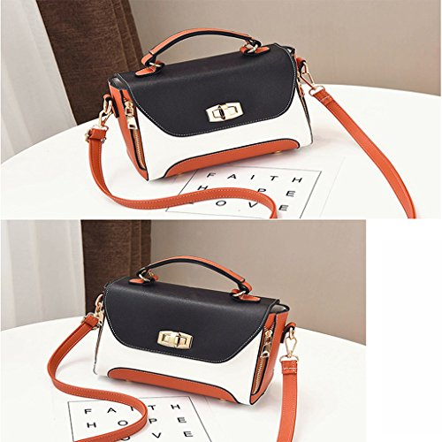 de Mini Black Portable Shoulder Bag Messenger Verano Bag Bolsos vAnqwRdpxR